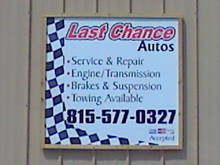 Last Chance Auto Repair for Cars Trucks - Plainfield - Naperville - IL