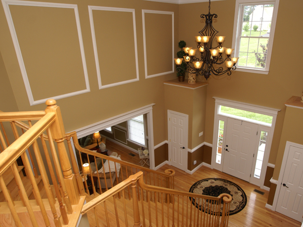 How to Hang a Chandelier in a Two-Story Foyer