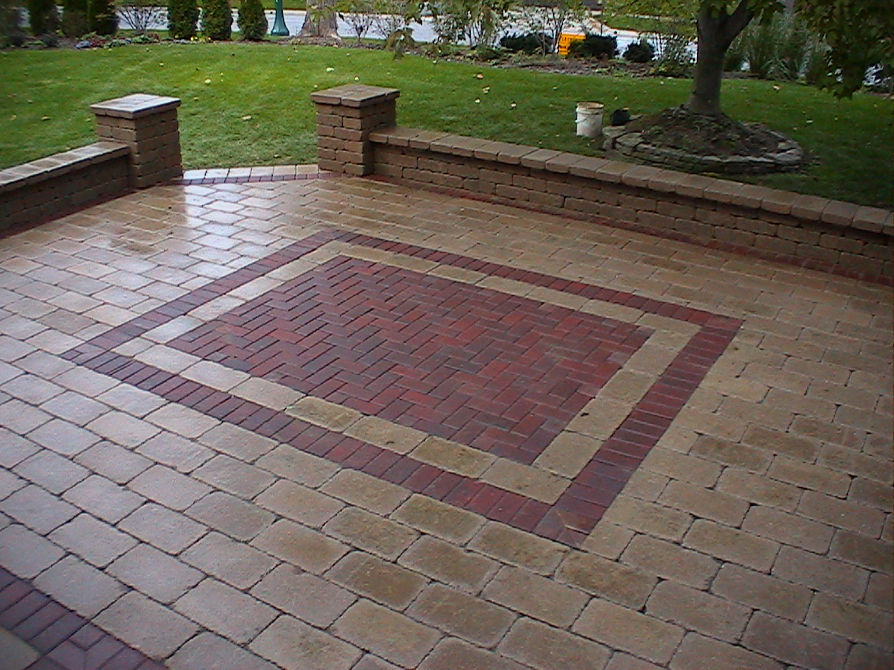 Fletcher 39 s custom design brick paving llc delaware oh for Brick designs