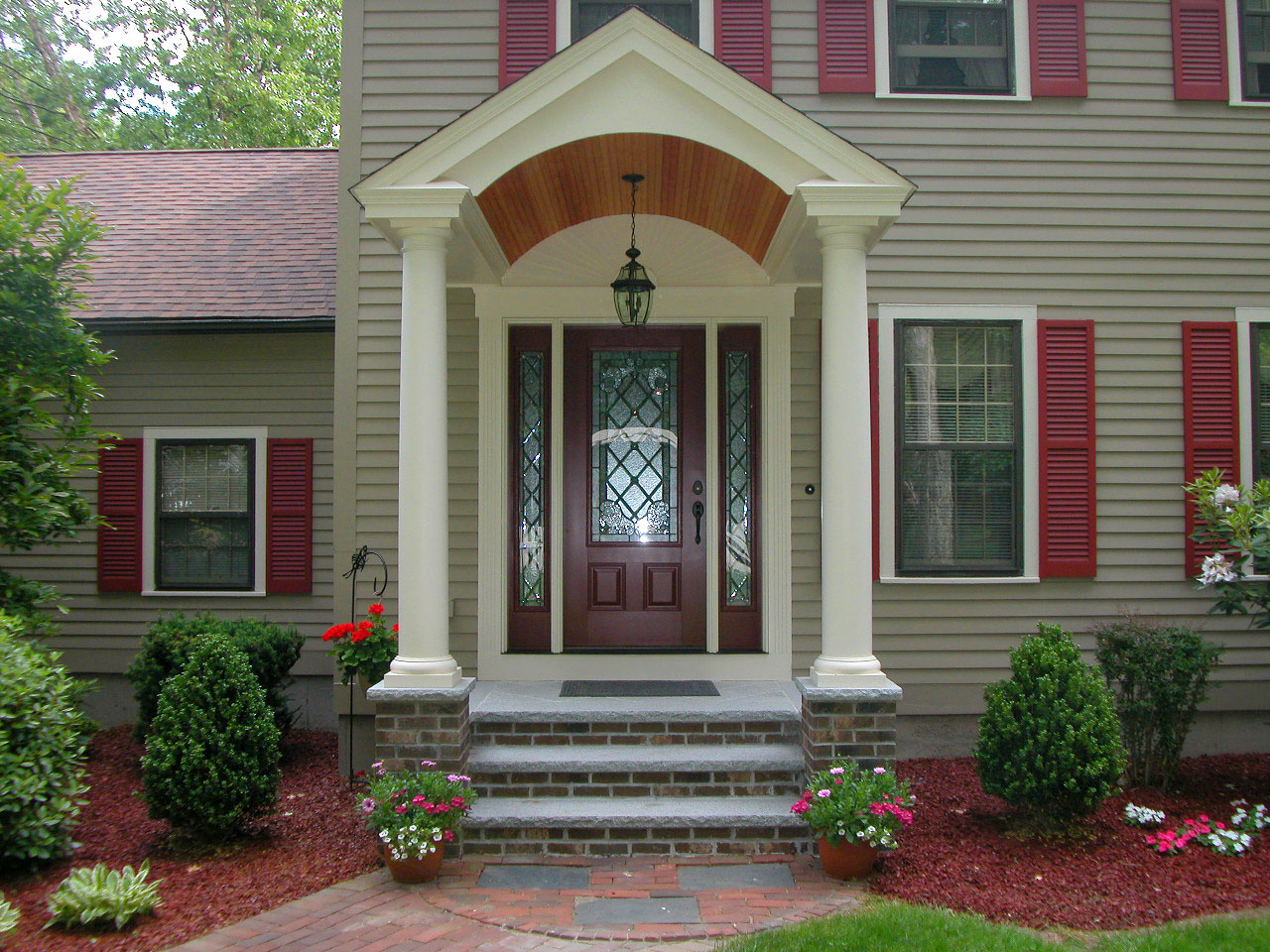 Front Entry Ideas 30 inspiring front door designs hinting towards a happy home. 30