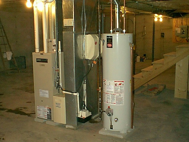 Furnace in new home