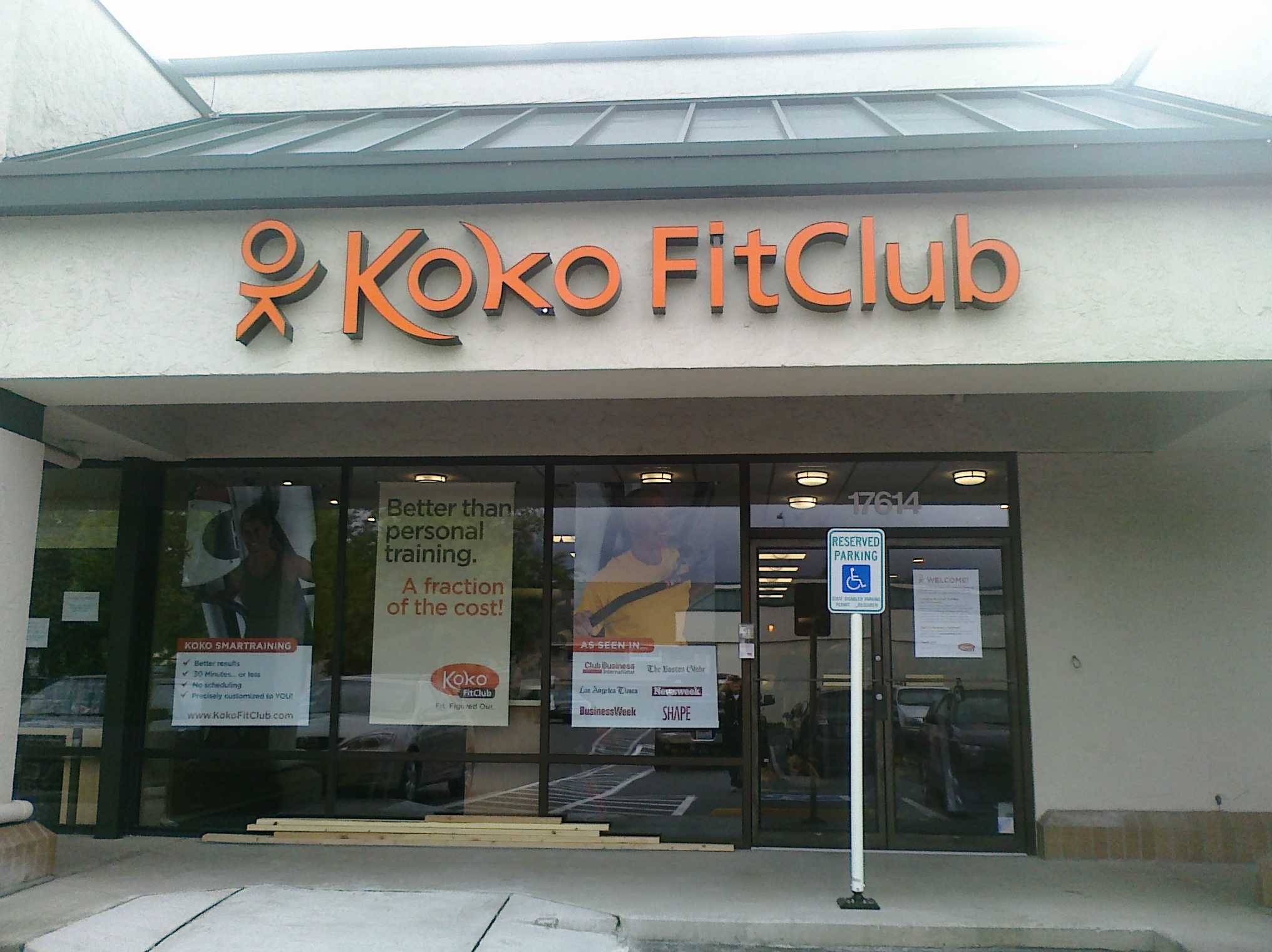 koko fit club Redmond WA.