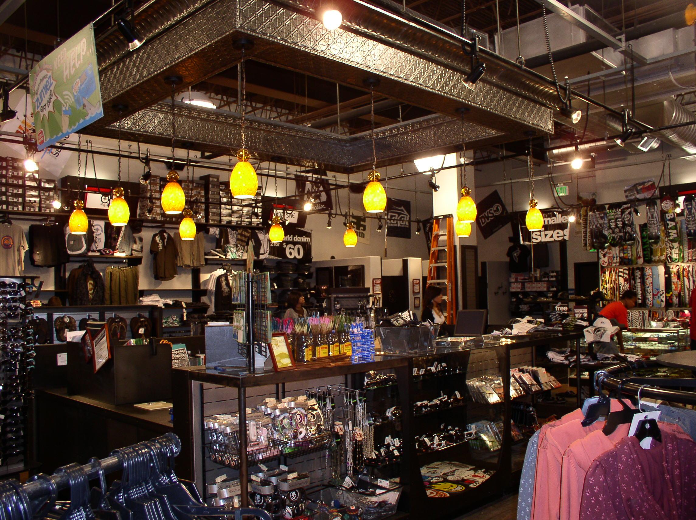 Zumiez -  Inside Zumiez Store