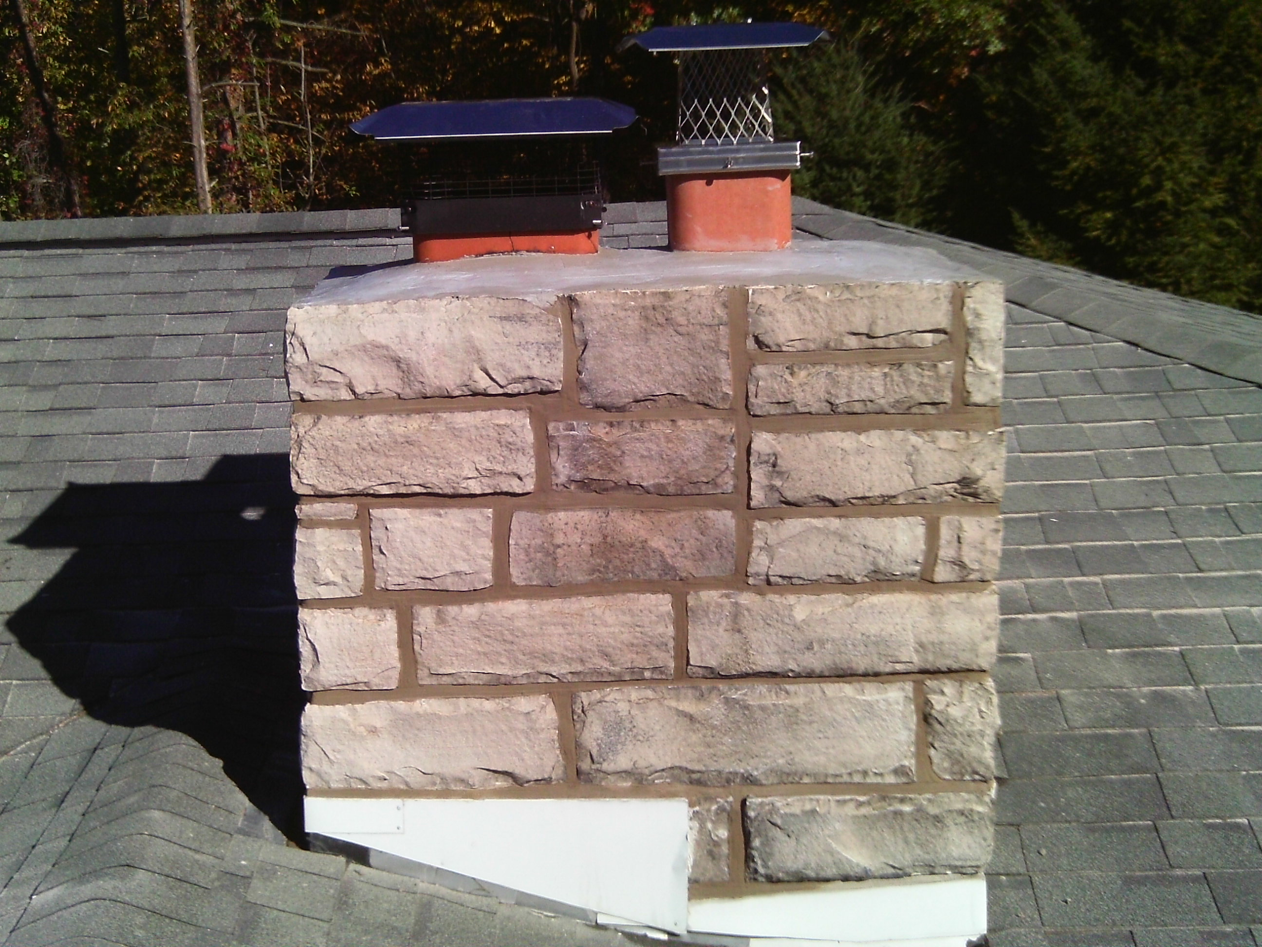 Stone Chimney Repoint