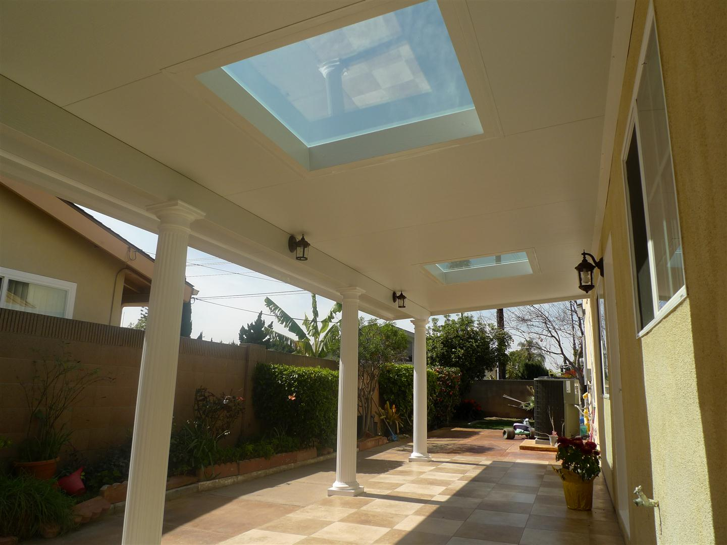 Solid Insulated Patio Cover
