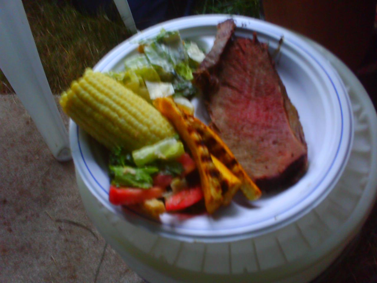 Prime Rib Plate