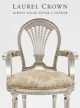 Louis XVI Horseshoe Chair
