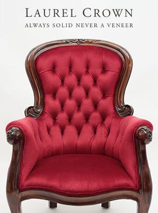 Victorian Spoon-Back Armchair