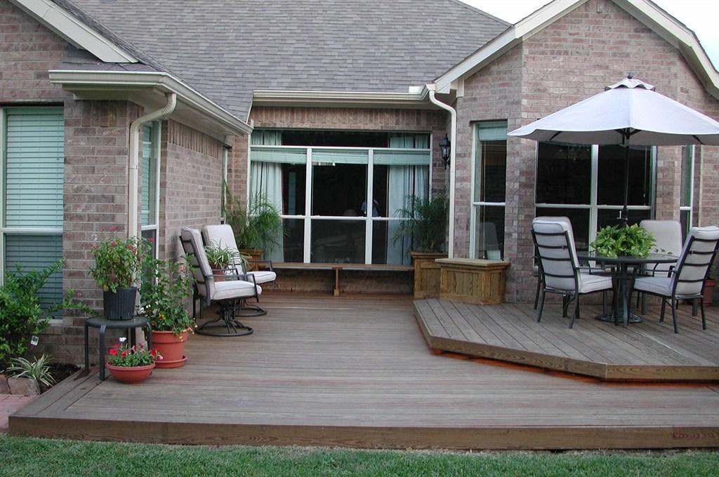 Backyard decks houston tx 77062 angies list - Backyard deck designs plans ...