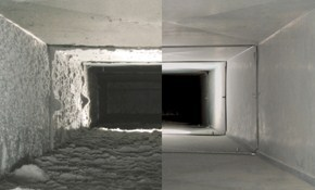 $175 for Air Duct Cleaning Including Sanitizer
