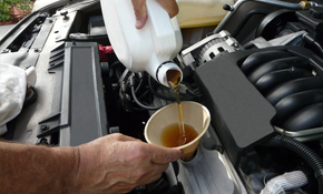 $75 for a Synthetic Oil Change and Tire Rotation