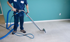 $149 for Eco-Friendly Carpet Cleaning, Sanitizing,...