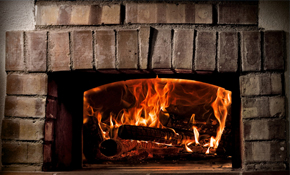 $111 for Gas Log Fireplace Tune-Up, Cleaning...