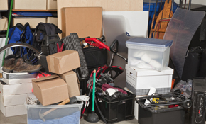 $90 for Home and Garage Organizing