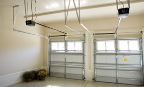 $89 for Garage Door Tune-Up with Quiet Roller...