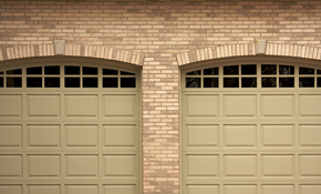 $99 Garage Door Tune-Up with Quiet Roller...