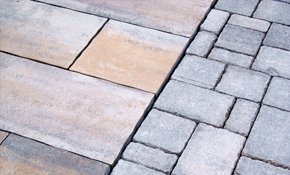 $1,500 for a Paver Stone Patio or Walkway...