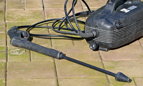 $90 for Complete Driveway Pressure Washing!