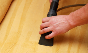$149 for Upholstery Cleaning of  Couch and...
