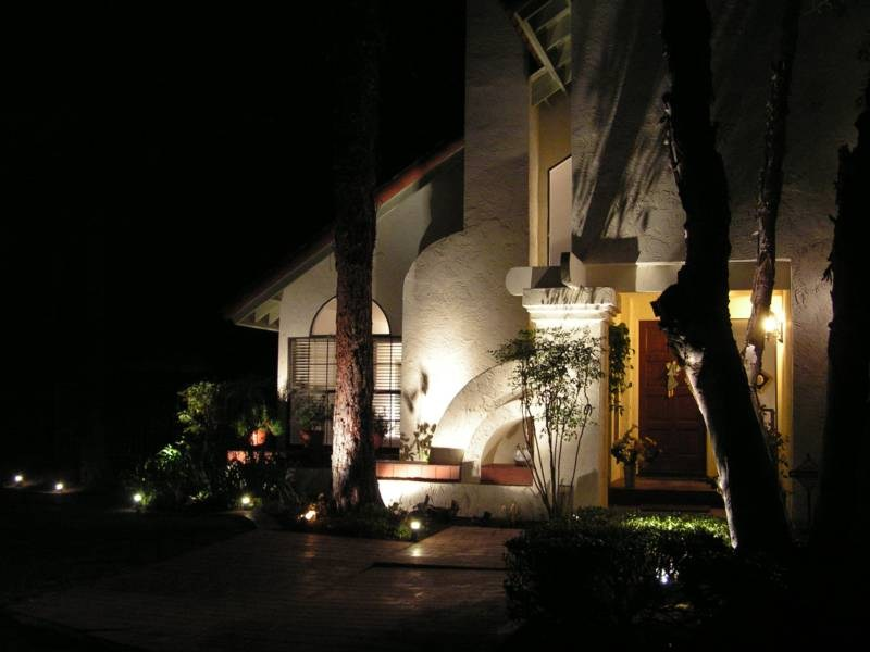 Security and landscape lighting