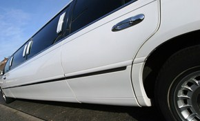 $60 Off a 4 Hour 10 Passenger Stretch Limousine!