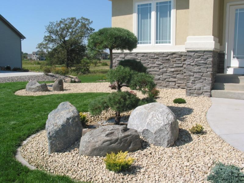 Cascade landscaping inc saint paul mn 55113 angie 39 s list for Different color rocks for landscaping