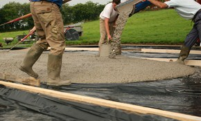 $75 for Concrete Evaluation and Consultation...
