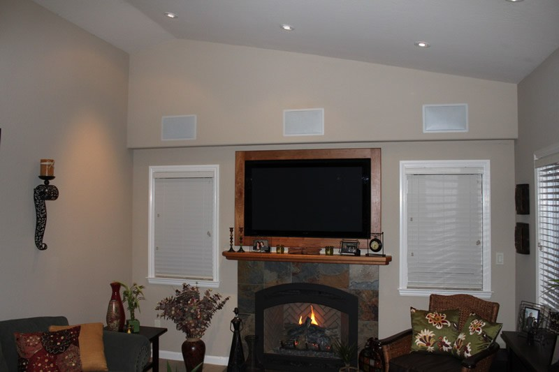 TV Mounting and Audio Wiring