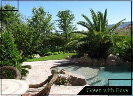 Green with envy landscaping las vegas