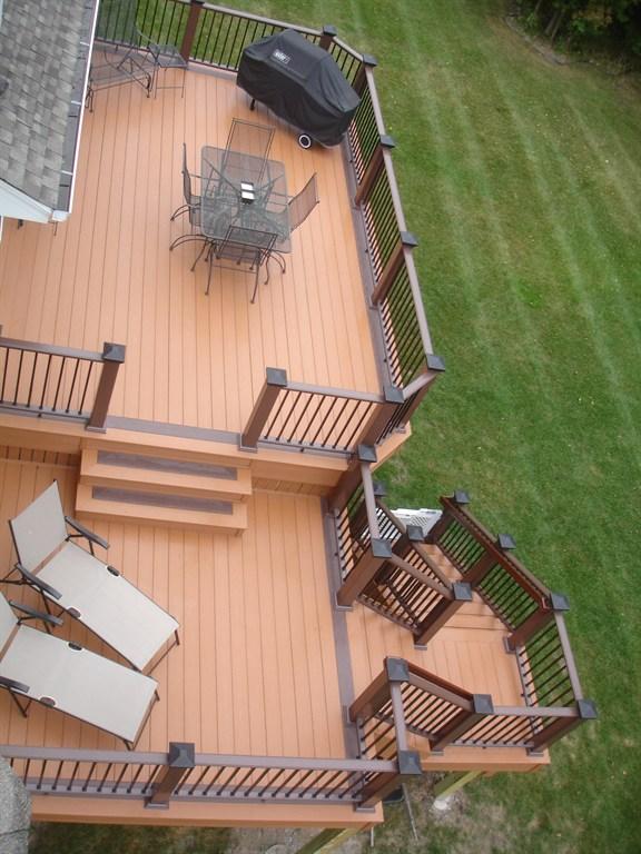 Azek composite deck