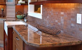 Backsplash Installation -  Travertine, Glass,...