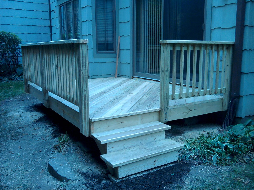Decks designed, installed, and repaired.