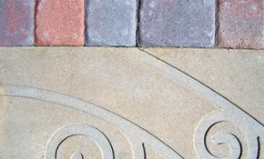 $39 for Decorative or Stamped Concrete Design...