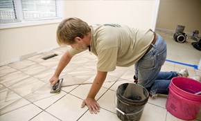 $179 for 4 Ceramic Tiles Replaced or Re-bonded