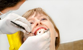 $150 for a Comprehensive Dental Exam, Cleaning,...