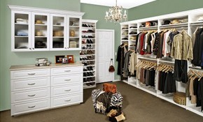 $299 for Closet Redesign and Professional...