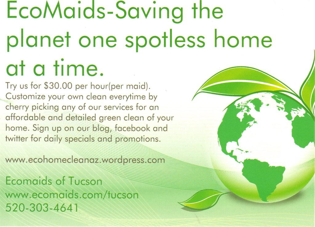ECOMAIDS of Tucson : Oro Valley, AZ 85737 : Angies List