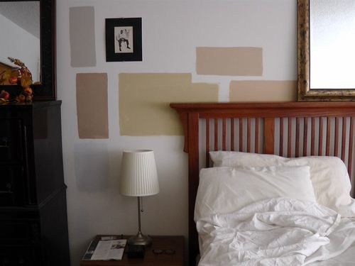 We can render samples right on your own wall first!