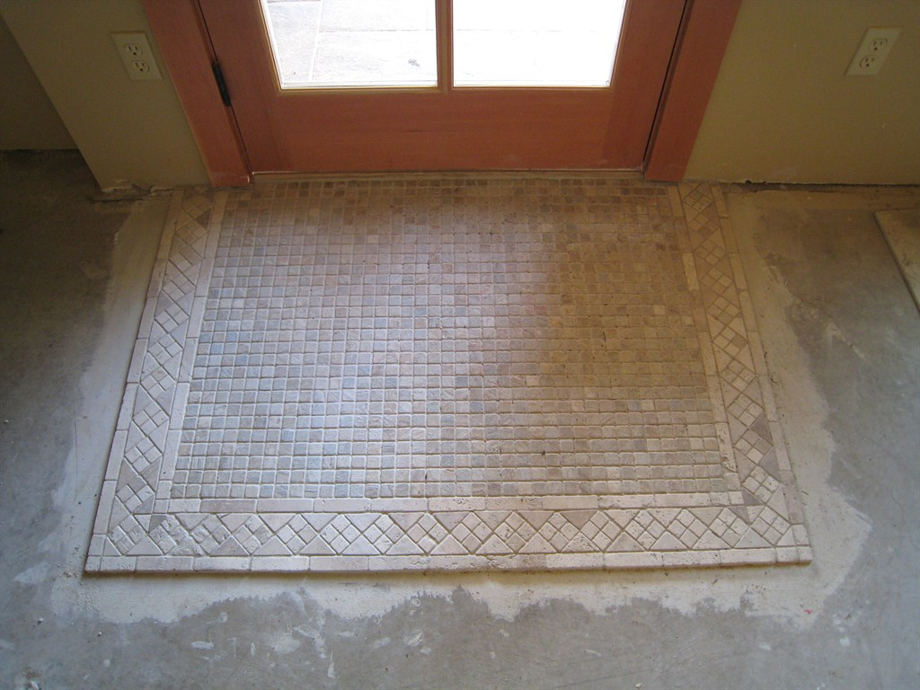 Tile floor thickness