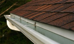 56% Off Seamless Gutter and Downspout Installation