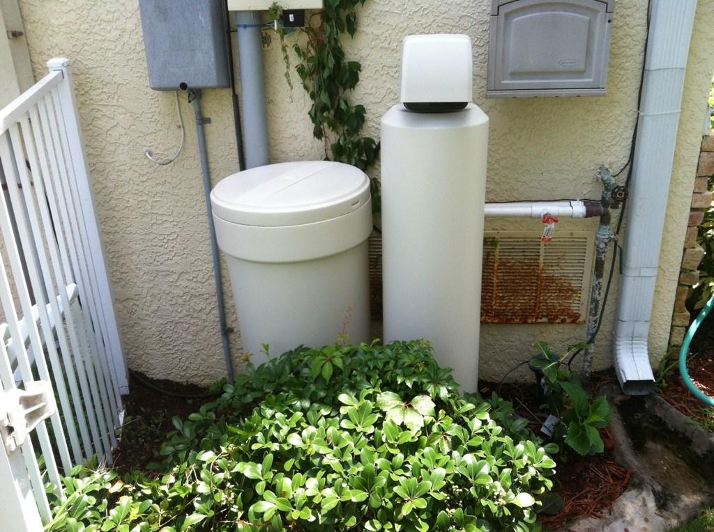 Customer Water Softener - Palm Harbor