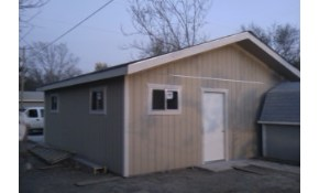 24 x 24 Complete Garage built on your Property!