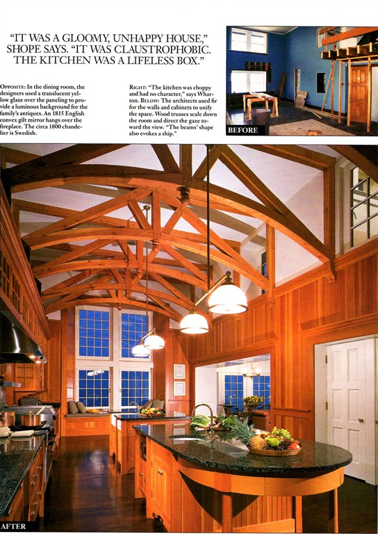 As seen in Architectural Digest