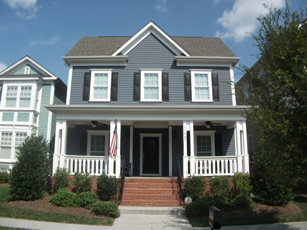 Southend home improvement charlotte nc 28217 angies list for Blue siding house