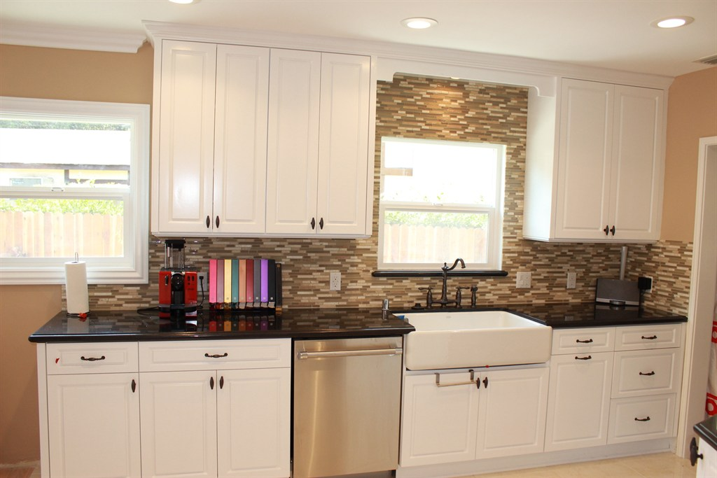 Pearl remodeling van nuys ca 91411 angies list for Semi custom cabinets