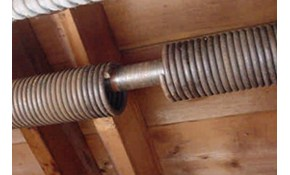Only $190 for a Garage Door Springs Replacement...