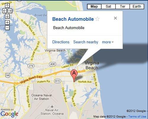 BEACH AUTOMOBILE SERVICE CENTER
