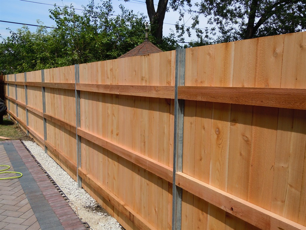 Amazing photo of  fence inc $ 600 for 4 wooden fence post replacements economy fence inc with #714320 color and 1024x768 pixels