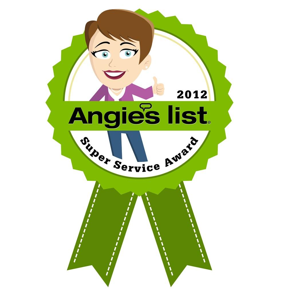 Angiie's List 2012 Super Service Award