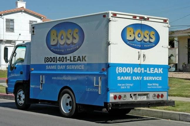 Boss plumbing Truck
